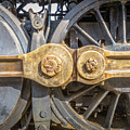 Starboard Drive Wheels And Connecting Rods No. 9000 by Mark Roger Bailey
