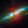 Starburst Galaxy M82 by Paul W Faust - Impressions of Light