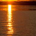 Starburst Sunset In Melvin Bay by Brenda Jacobs