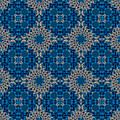Stardrop Diamond Blue by Deborah Runham