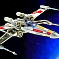 Starfighter X-wings - Da by Leonardo Digenio