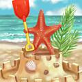 Starfish Makes A Sandcastle by Shari Warren