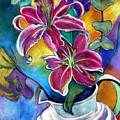 Stargazer Lilies by Jillian Goldberg
