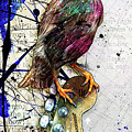 Starling On A Strat by Gary Bodnar