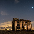 Starry Night At Dungeness by David Attenborough