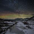 Starry Night In Iceland by Jean-Claude Ardila
