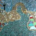 Starry Riverwalk by Ann Salas