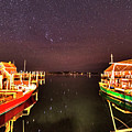 Starry Skies Over Edgartown Ma Cape Cod by Toby McGuire