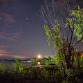 Starry Sky Over Lake Champlain New York by Toby McGuire