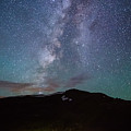 Stars And Car Trails by Alison Hopkins