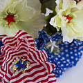Stars And Stripes Bouquet by Kathy Clark