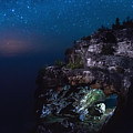 Stars Over The Grotto by Cale Best