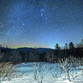 Stars Over The New Hampshire White Mountains by Toby McGuire
