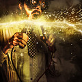 Start Up Business Man With Explosive Idea by Jorgo Photography - Wall Art Gallery