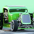 'starv'n Marvin' Hot Rod Pickup by Dave Koontz