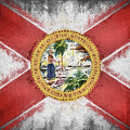 State Of Florida Flag by JC Findley