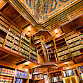 Stately Library by Melissa Hicks