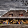 Station - Westfield Nj - The Train Station by Mike Savad