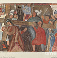 """Station Of The Cross No. 5: """"jesus Is Assisted In Carrying His Cross by William Herbert"""