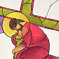 Stations Of The Cross - 03 Jesus Falls The First Time - Mmjff by Br Mickey McGrath OSFS