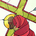 Stations Of The Cross - 07 Jesus Falls A Second Time - Mmjti by Br Mickey McGrath OSFS