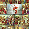 Stations Of The Cross by Munir Alawi