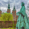 Statue At Rosenborg Castle by Antony McAulay