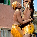 Statue Dedicated To Slaves by Clifton Facey