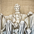 Statue Of Abraham Lincoln - Lincoln Memorial #3 by Julian Starks