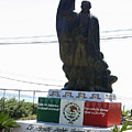 Statue Of Benito Pablo Juarez Garcia  by James Connor