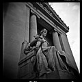 Statue Of Justice At The Courthouse In Memphis Tennessee by David Wolanski