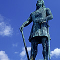 Statue Of Leif Ericksson  by Jim Corwin