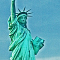 Statue Of Liberty by Allan Einhorn