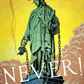 Statue Of Liberty In Chains -- Never by War Is Hell Store
