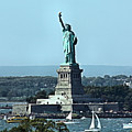 Statue Of Liberty by Kristin Elmquist
