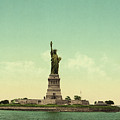 Statue Of Liberty, New York Harbor by Unknown