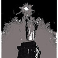 Statue Of Liberty Power Outage 1942-2014 by David Lee Guss