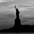 Statue Of Liberty, Silhouette by Marco Catini