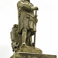 Statue Of Robert The Bruce Stirling Castle by Fran Gallogly