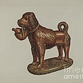 Statuette Of A Dog by Frank Fumagalli