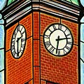 Staunton Clock Tower Landmark by Jim Harris