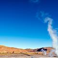 Steam At El Tatio Geysers by Jess Kraft