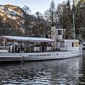 Steam Boat On Loch Katrine by Jeremy Lavender Photography
