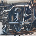 Steam Engine Wheels by Emily Page