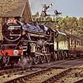 Steam Loco On Yorkshire Railway by Martyn Arnold