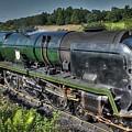Steam Locomotive 34027 The Taw Valley by Catchavista