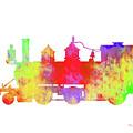 Steam Locomotive Art by Ken Figurski