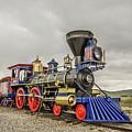 Steam Locomotive Jupiter by Sue Smith