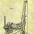 Steam Powered Oil Well Patent by Dan Sproul