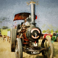 Steam Traction Engine by Martin Fry
